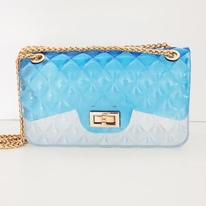 Caleesa Quilted Crossbody Jelly Purse